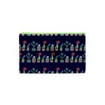 Cute Cactus Blossom Cosmetic Bag (XS) Front