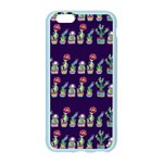 Cute Cactus Blossom Apple Seamless iPhone 6/6S Case (Color) Front