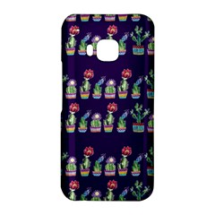 Cute Cactus Blossom HTC One M9 Hardshell Case