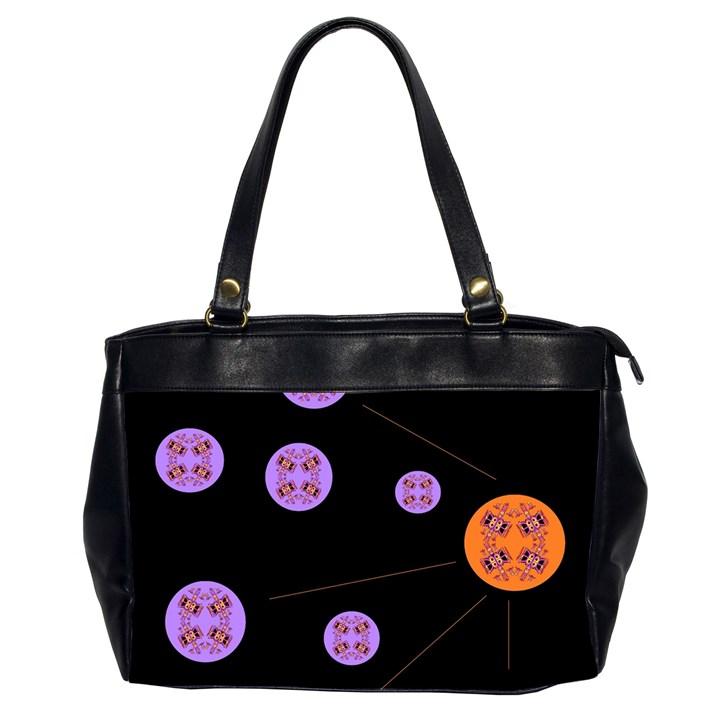 Alphabet Shirtjhjervbret (2)fvgbgnh Office Handbags (2 Sides)