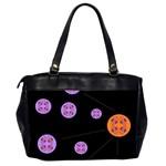 Alphabet Shirtjhjervbret (2)fvgbgnh Office Handbags (2 Sides)  Back