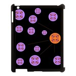 Alphabet Shirtjhjervbret (2)fvgbgnh Apple iPad 3/4 Case (Black) Front