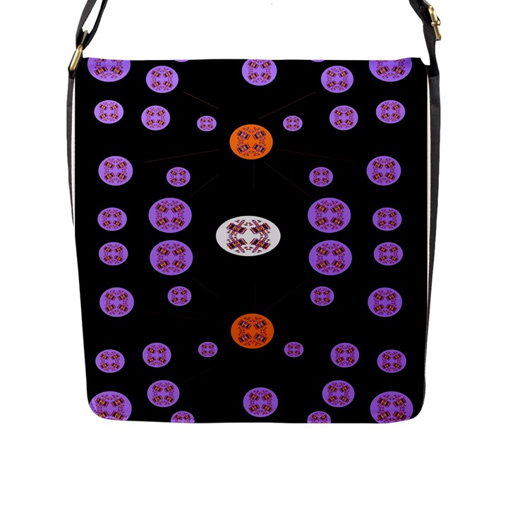 Alphabet Shirtjhjervbret (2)fvgbgnhll Flap Messenger Bag (L)