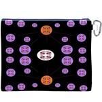 Alphabet Shirtjhjervbret (2)fvgbgnhll Canvas Cosmetic Bag (XXXL) Back