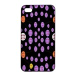 Alphabet Shirtjhjervbret (2)fvgbgnhllhn Apple iPhone 4/4s Seamless Case (Black) Front