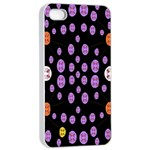 Alphabet Shirtjhjervbret (2)fvgbgnhllhn Apple iPhone 4/4s Seamless Case (White) Front