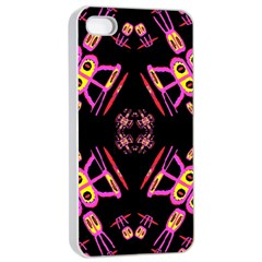 Alphabet Shirtjhjervbret (2)fv Apple Iphone 4/4s Seamless Case (white)
