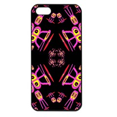 Alphabet Shirtjhjervbret (2)fv Apple iPhone 5 Seamless Case (Black)