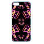 Alphabet Shirtjhjervbret (2)fv Apple Seamless iPhone 5 Case (Color) Front