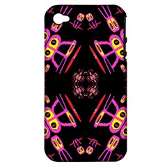 Alphabet Shirtjhjervbret (2)fv Apple iPhone 4/4S Hardshell Case (PC+Silicone)