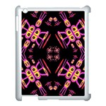Alphabet Shirtjhjervbret (2)fv Apple iPad 3/4 Case (White) Front
