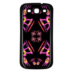 Alphabet Shirtjhjervbret (2)fv Samsung Galaxy S3 Back Case (black)