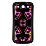 Alphabet Shirtjhjervbret (2)fv Samsung Galaxy S3 Back Case (Black) Front