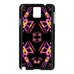 Alphabet Shirtjhjervbret (2)fv Samsung Galaxy Note 3 N9005 Case (Black)