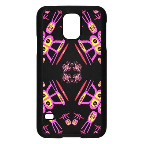 Alphabet Shirtjhjervbret (2)fv Samsung Galaxy S5 Case (Black)