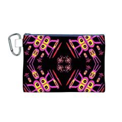 Alphabet Shirtjhjervbret (2)fv Canvas Cosmetic Bag (M)