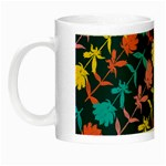 Colorful Floral Pattern Night Luminous Mugs Left