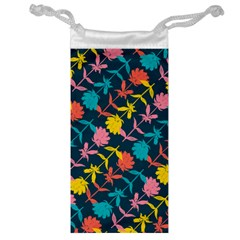 Colorful Floral Pattern Jewelry Bags