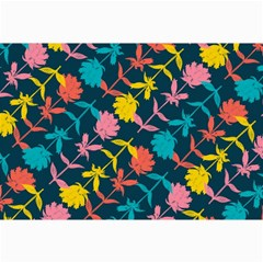 Colorful Floral Pattern Collage Prints