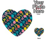 Colorful Floral Pattern Playing Cards 54 (Heart)  Front - Club8