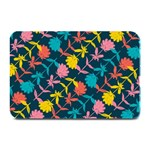 Colorful Floral Pattern Plate Mats 18 x12 Plate Mat - 1