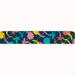 Colorful Floral Pattern Small Bar Mats