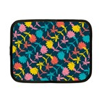 Colorful Floral Pattern Netbook Case (Small)  Front