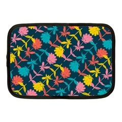 Colorful Floral Pattern Netbook Case (Medium)