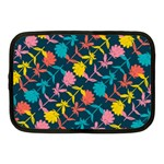 Colorful Floral Pattern Netbook Case (Medium)  Front