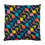 Colorful Floral Pattern Standard Cushion Case (One Side) Front