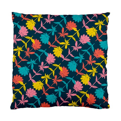 Colorful Floral Pattern Standard Cushion Case (Two Sides)