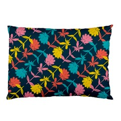 Colorful Floral Pattern Pillow Case