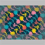 Colorful Floral Pattern Mini Canvas 6  x 4  6  x 4  x 0.875  Stretched Canvas