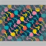 Colorful Floral Pattern Mini Canvas 7  x 5  7  x 5  x 0.875  Stretched Canvas