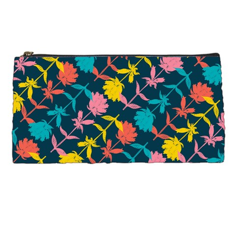 Colorful Floral Pattern Pencil Cases