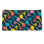 Colorful Floral Pattern Pencil Cases Front