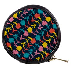 Colorful Floral Pattern Mini Makeup Bags