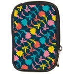 Colorful Floral Pattern Compact Camera Cases Front