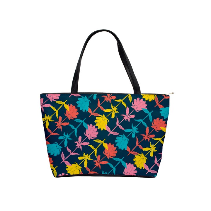 Colorful Floral Pattern Shoulder Handbags