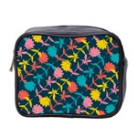 Colorful Floral Pattern Mini Toiletries Bag 2-Side Front