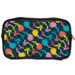 Colorful Floral Pattern Toiletries Bags 2-Side Front