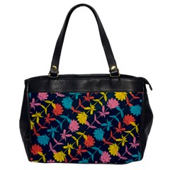 Colorful Floral Pattern Office Handbags