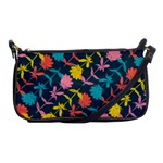 Colorful Floral Pattern Shoulder Clutch Bags Front