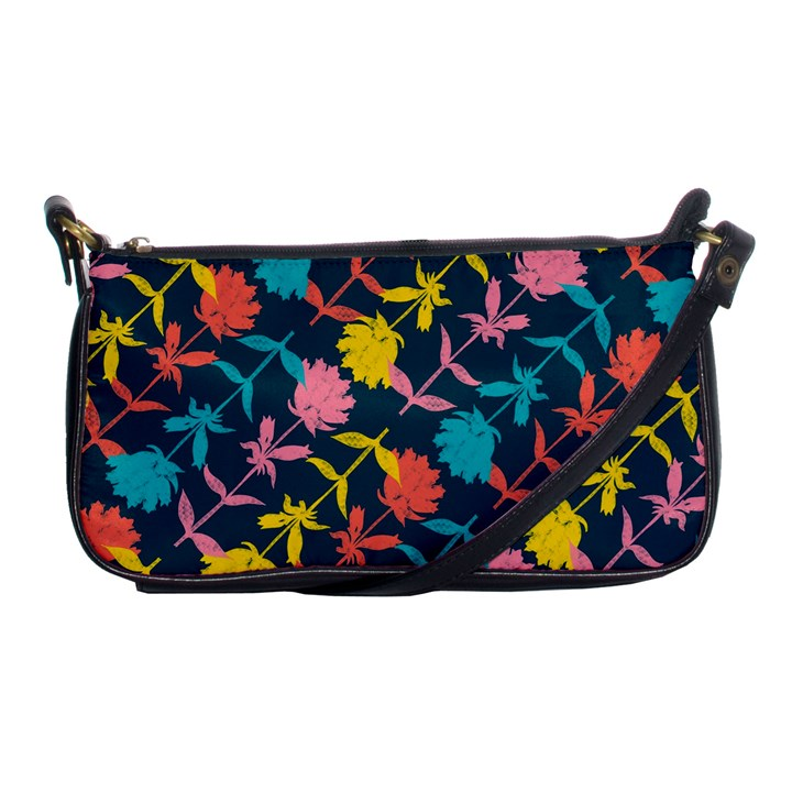 Colorful Floral Pattern Shoulder Clutch Bags