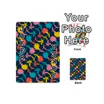Colorful Floral Pattern Playing Cards 54 (Mini)  Front - Joker1