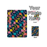 Colorful Floral Pattern Playing Cards 54 (Mini)  Front - Joker2