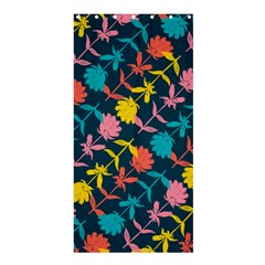 Colorful Floral Pattern Shower Curtain 36  x 72  (Stall)