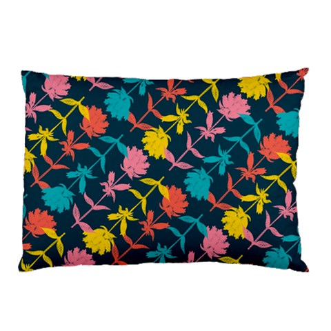 Colorful Floral Pattern Pillow Case (Two Sides)