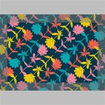 Colorful Floral Pattern Deluxe Canvas 18  x 12   18  x 12  x 1.5  Stretched Canvas