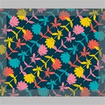 Colorful Floral Pattern Deluxe Canvas 20  x 16   20  x 16  x 1.5  Stretched Canvas